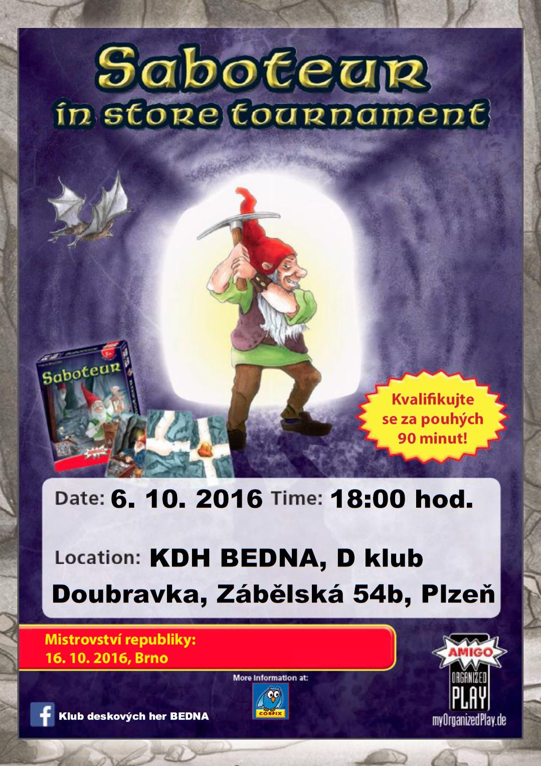 pozvánka na turnaj SPLENDOR